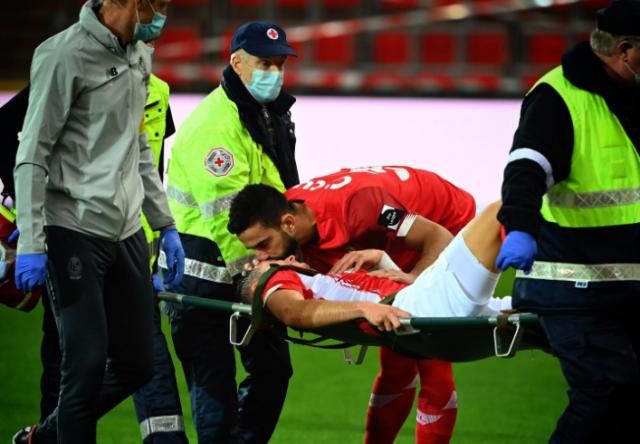 Vanheusden souffre d'une rupture des ligaments croisés