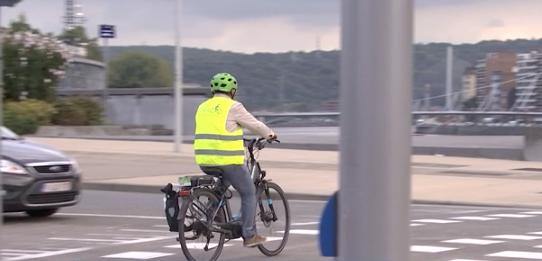 Vélo à Liège: 'climat défavorable' d'après une enquête du GRACQ
