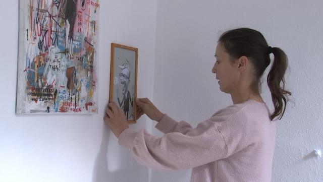 Vente d'oeuvres d'art pour chausser les plus démunis