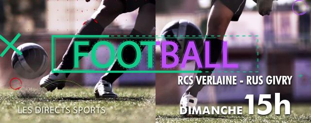 Verlaine-Givry, match au sommet pour la 1ère place ! (Direct RTC)