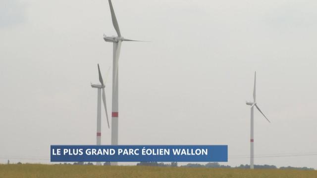 Villers-le-Bouillet : le plus grand parc d'éoliennes en Wallonie