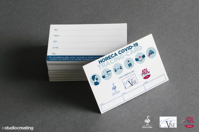 Visé : des cartes de tracing pour les clients Horeca