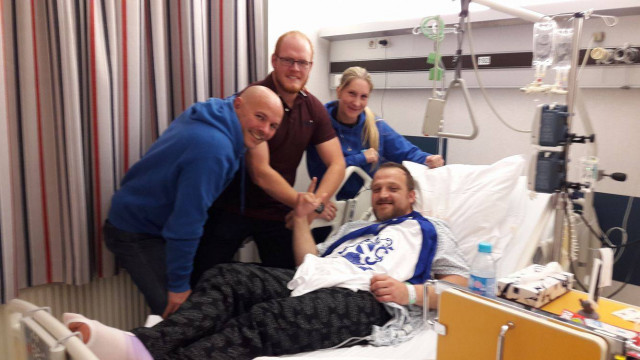 Visé : ils ont sauvé le joueur de rugby victime d'un arrêt cardiaque