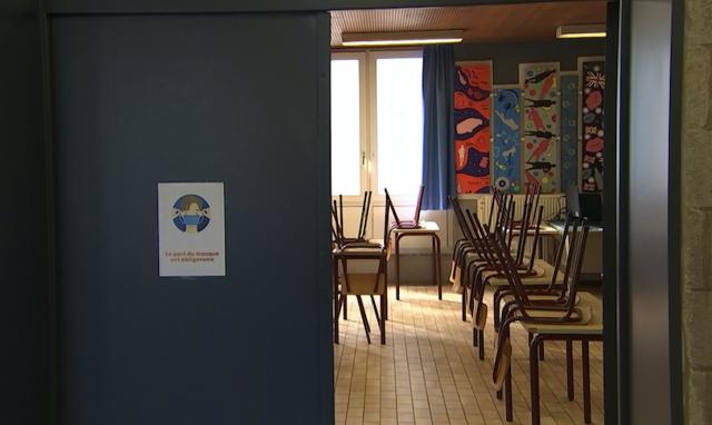 Visé : l'athénée se prépare au retour des élèves