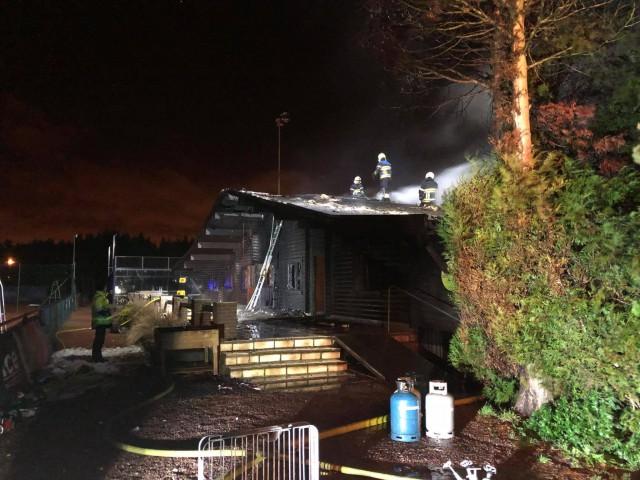 Visé : le chalet du tennis club détruit par un incendie
