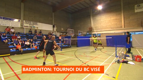 Visé : tournoi national de badminton
