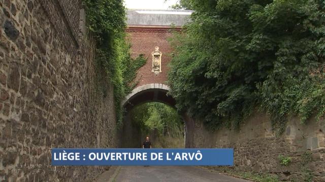 Visite de l'arvô du fort de la Chartreuse