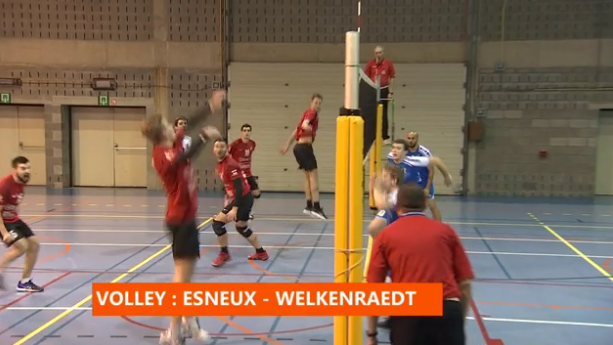 Volley : Esneux - Welkenraedt