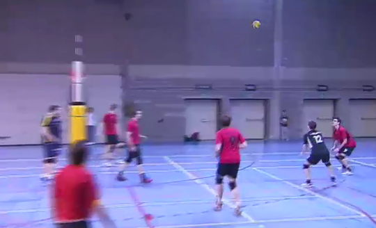 Volley : Esneux - Zurselle