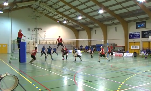 Volley : Marchin - Esneux