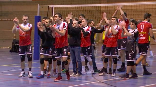 Volley : Une victoire qui rassure pour Esneux avant les play-down