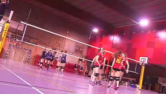 Volley : Waremme - Lessines