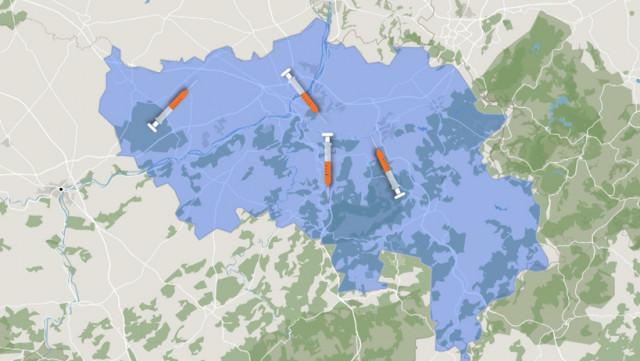 Vos centres de vaccination en province de Liège