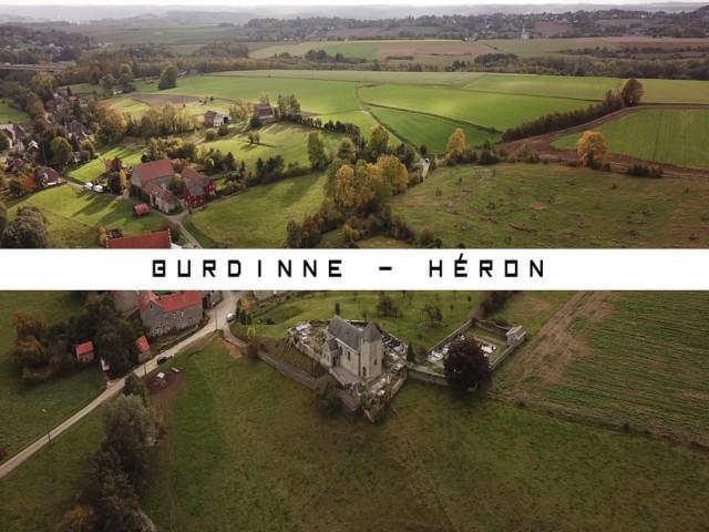 Vu du Ciel : Burdinne - Héron