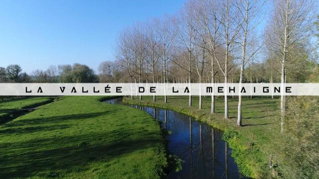 Vu du Ciel : la vallée de la Mehaigne