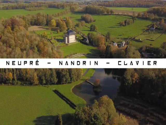 Vu du Ciel : Neupré - Nandrin - Clavier