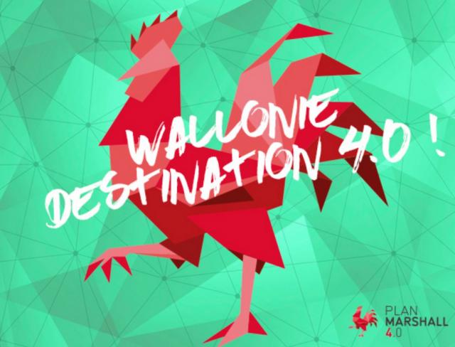 Wallonie Destination 4.0, la Wallonie fait sa révolution numérique
