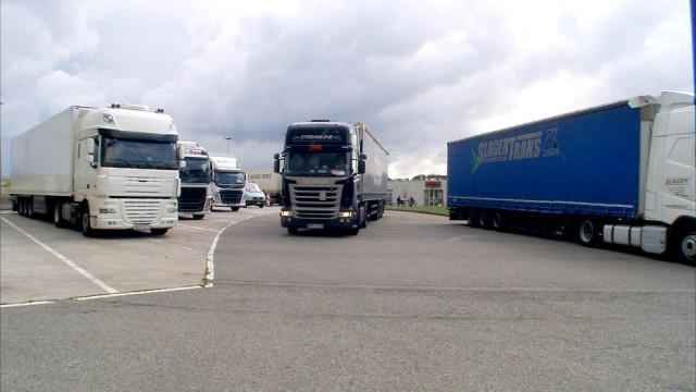 Waremme : aire d'autoroute interdite aux camions