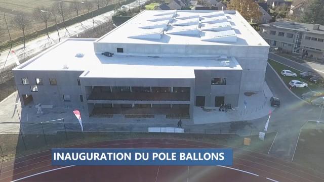 """Waremme : le """"Pôle Ballons"""" est prêt à l'emploi"""