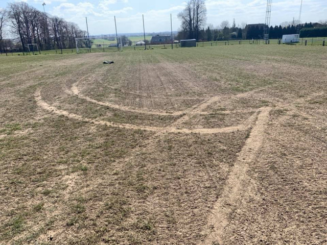 Wasseiges :des jeunes dégradent le terrain de football