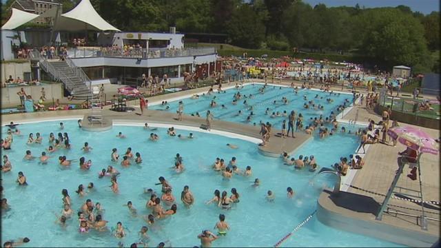 Wégimont : 3000 nageurs au domaine provincial