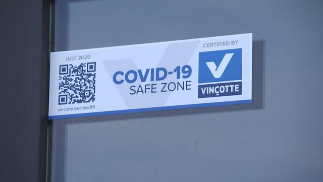 WFS Belgium à Liège : certifié Covid-19 Safe Zone