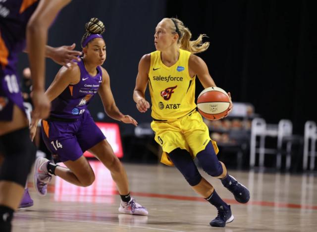 WNBA : Julie Allemand citée parmi les favorites pour le titre de Rookie de l'Année
