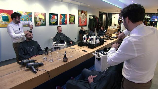 XPO253 : le salon de coiffure qui se transforme en galerie d'art