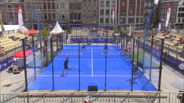 Zapping sports: le padel marque des points en Cité ardente!